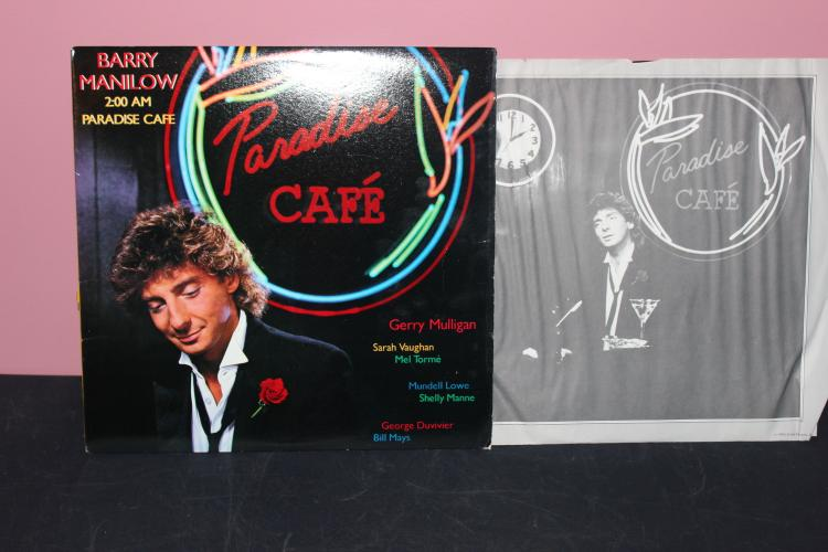 BARRY MANILOW ARISTA RECORDS 1984 A18 8254 LIKE NEW