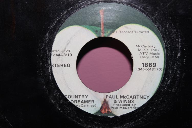 PAUL MCCARTNEY & WINGS 1973 EMI RECORDS LIMITED APPLE RECORDS -1869