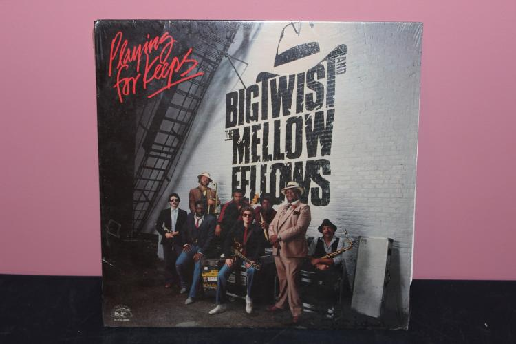 BIG TWIST AND THE MELLOW FELLOWS 1983 ALLIGATOR RECORDS