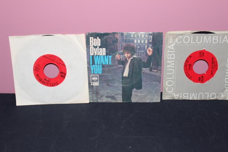 DYLAN 3 RECORD LOT ALL COLUMBIA ALL IN EXCELLENT COND.