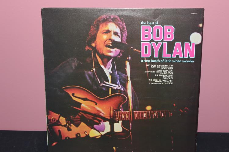 1977 THE BEST OF DYLAN – RECORDED IN ITALY UP INTERNATIONAL LIKE NEW
