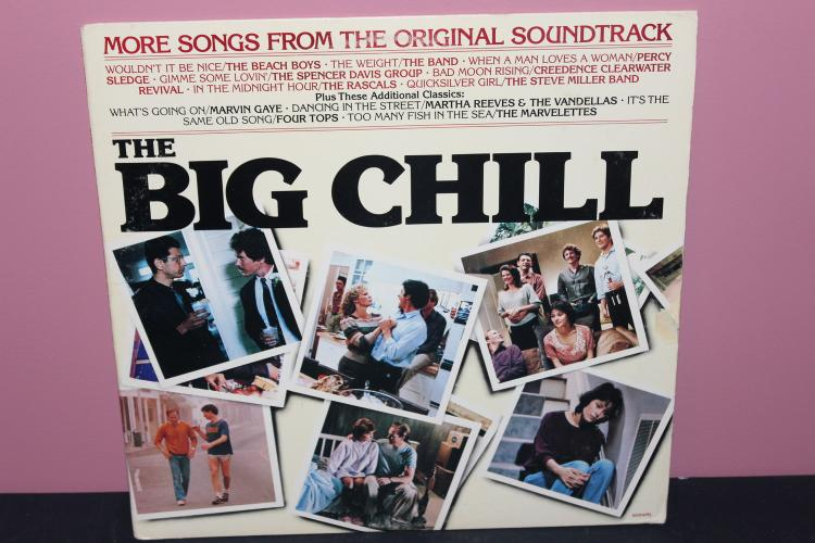 MOVIE SOUNDTRACK THE BIG CHILL 1984 MOTOWNRECORDS NEAR VERY GOOD COND.