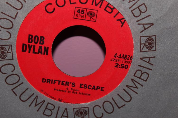 DYLAN – DRIFTERS ESCAPE COLUMBIA 444826 LIKE NEW