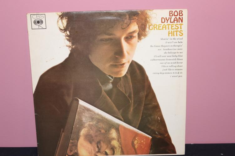 BOB DYLANS GREATEST HITS CBS 62847 KINNEY MUSIC MADE IN ENGLAND 1966 NEAR MINT