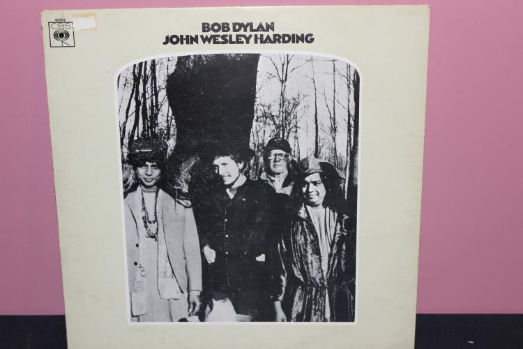 BOB DYLAN – JOHN WESLEY HARDING CBS 63252 1968 MADE IN ENGLAND NEAR MINT