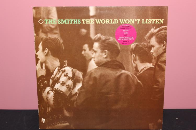 THE SMITHS – THE WORLD WON'T LISTEN 1986 ROUGH 101 RECORDS NEAR MINT