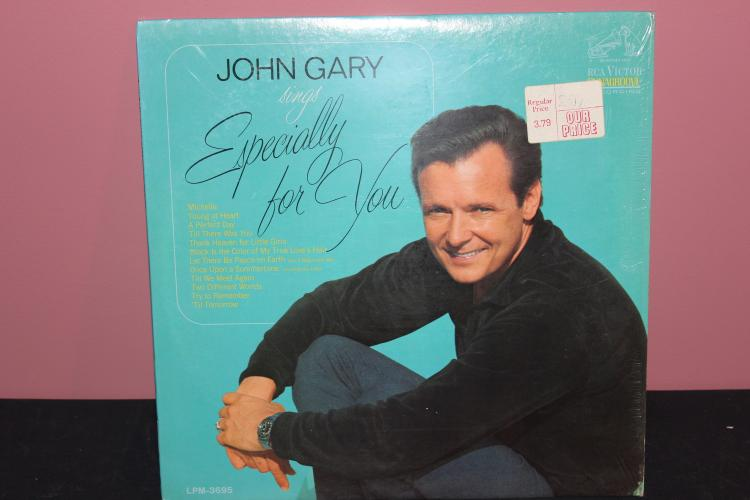 JOHN GARY SINGS ESPECIALLY FOR YOU RCA 3695 NEAR MINT