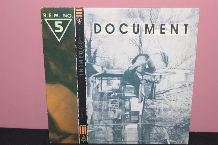 R.E.M. #5 DOCUMENT 1987 IRS RECORDS 42059 SALE UNLAWFUL PROMO ONLY NEAR MINT