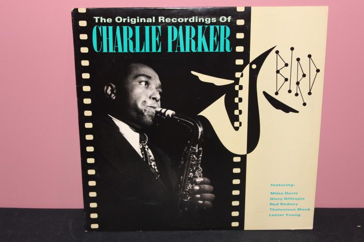 ORIGINAL RECORDINGS CHARLIE PARKER 1988 POLYGRAM RECORDS LIKE NEW