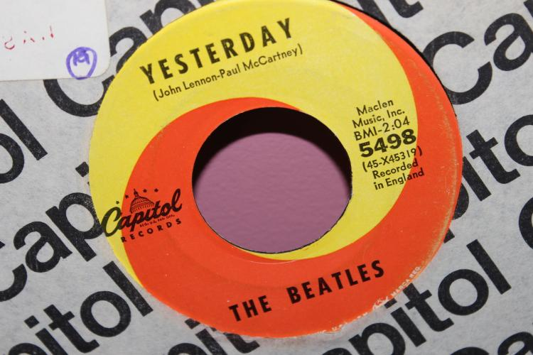 BEATLES RECORDED ENGLAND CAPITAL 5498 MACLEN MUSIC INC.BMI
