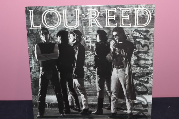 LOU – REED 1989 SIRE RECORDS NEAR MINT