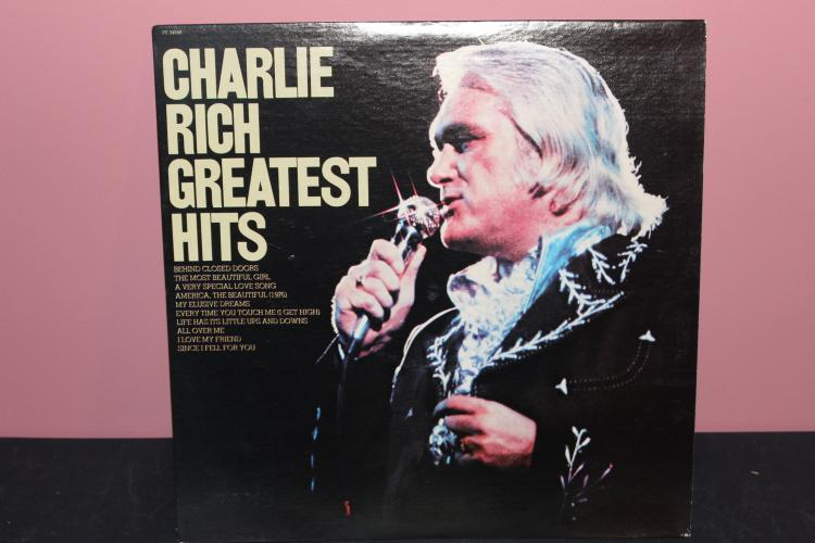 CHARLIE RICH GREATEST HITS 1976 EPIC RECORDS AL34240 NEAR MINT