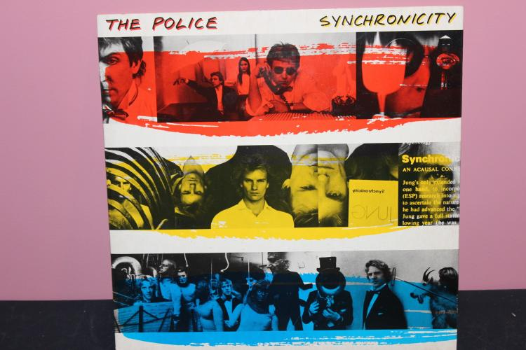 THE POLICE SYNCHRONICITY1983 A.M. RECORDS NEAR MINT