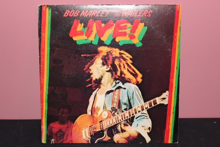 BOB MARLEY AND THE WHAILERS LIVE – ISLAND RECORDS 9376 1975 LIKE NEW