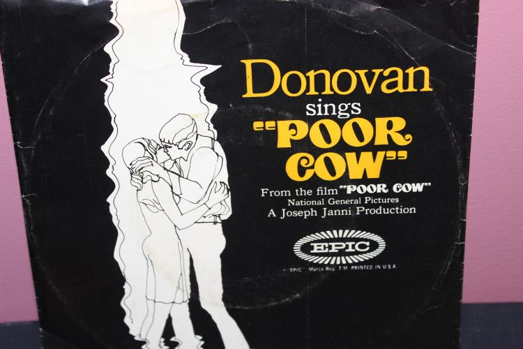 DONOVAN – POOR COW FROM THE MOVIE POOR COW – EPIC 5-10300 LIKE NEW