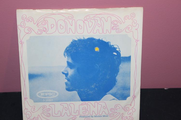 DONOVAN LALENA – EPIC RECORDS 5-10393 VERY GOOD.