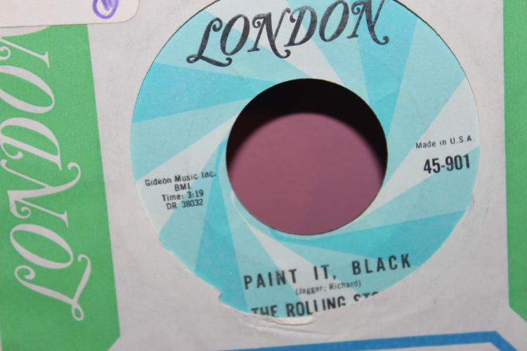 STONES PAINT IT BLACK LONDON RECORDS 45-901 LIKE NEW