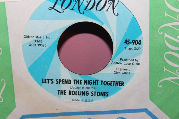 THE STONES RUBY TUESDAY LONDON 45-904