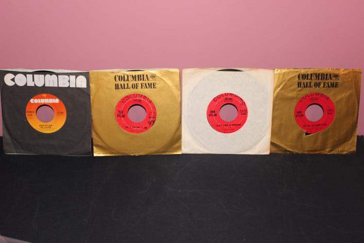 DYLAN 4 RECORD LOT SEE PICTURES FOR TITLES ALL GOOD COND.