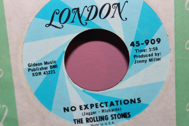 LONDON THE ROLLING STONES 45-909 STREET FIGHTING