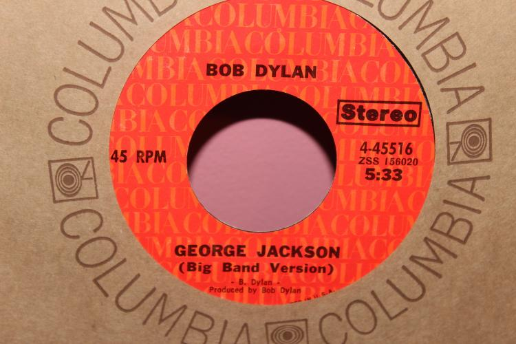 DYLAN – GEORGE JACKSON COLUMBIA 445516 LIKE NEW