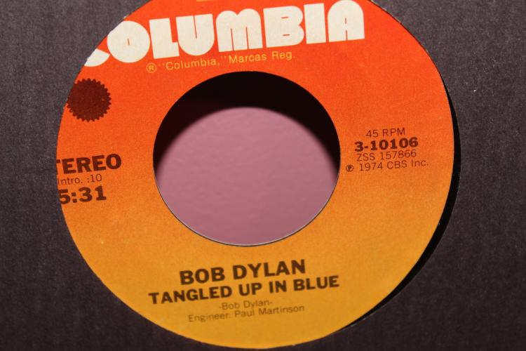 DYLAN- TANGLED UP IN BLUE 1973 COLUMBIA 310106 LIKE NEW