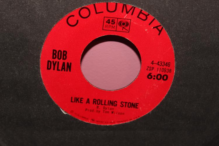 DYLAN LIKE A ROLLING STONE COLUMBIA 443346 LIKE NEW