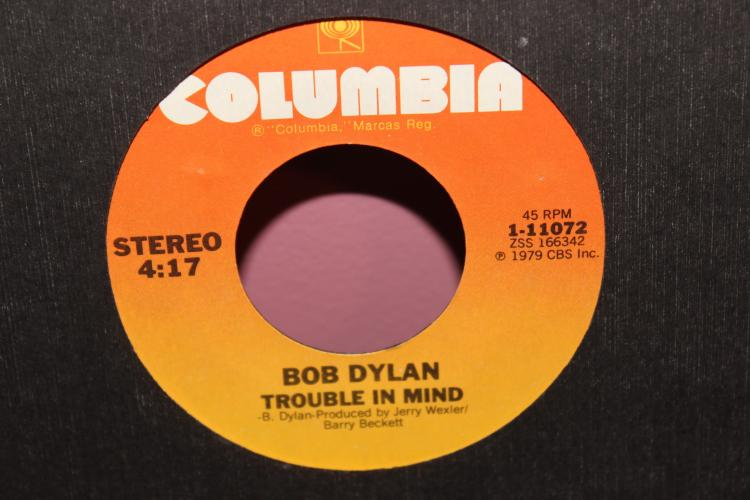 DYLAN – TROUBLE IN MIND 1979 COLUMBIA 111072 LIKE NEW