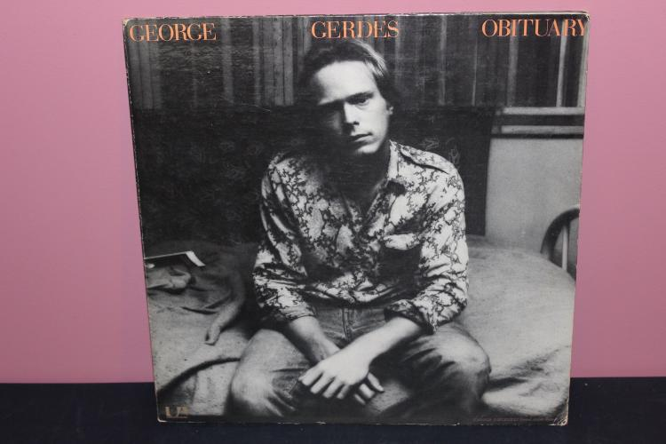 GEORGE GERDES OBITUARY UNITED ARTIST 1971 GATEFOLD VERY GOOD CONDITION