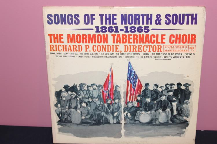 SONGS OF THE NORTH & SOUTH – COLUMBIA RECORDS 59-59 VERY GOOD CONDITION GREAT COVER
