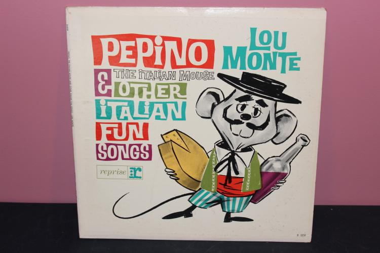 THE ITALIAN MOUSE- REPRISE RECORDS 6058B LIKE NEW