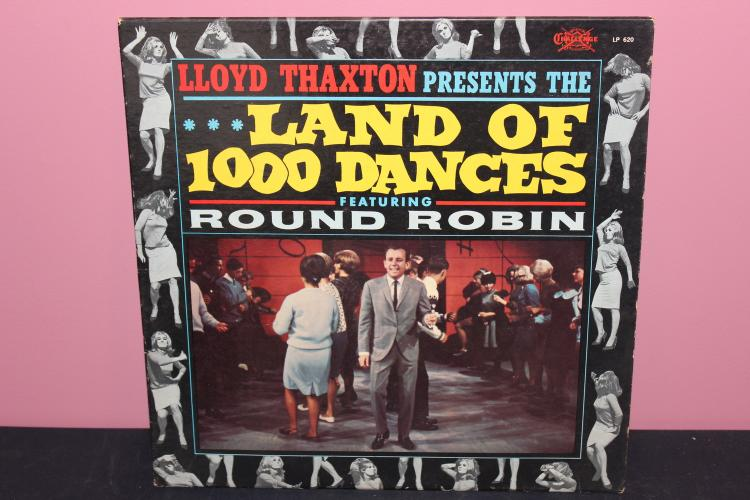 LAND OF 1000 DANCES – CHALLENGE RECORDS 620 VERY GOOD COND.