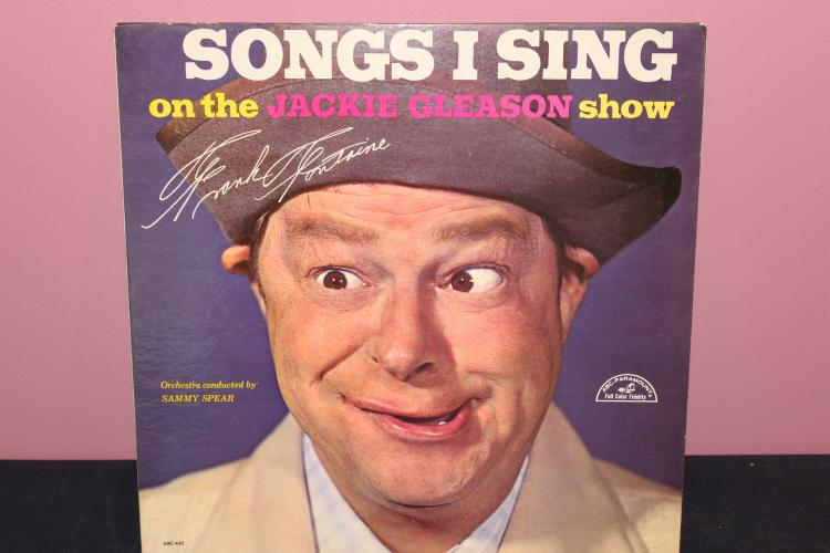 FRANK FONTAINE ABC PARAMOUNT RECORDS FROM JACKIE GLEASON SHOW LIKE NEW
