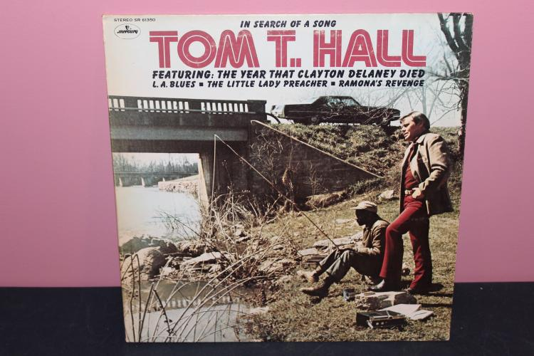 TOM T. HALL – MERCURY RECORDS 61350 LIKE NEW