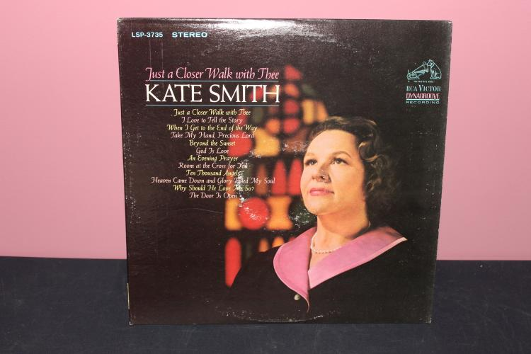 KATE SMITH 1967 RCA VICTOR VINYL LIKE NEW COVER SOME WARE