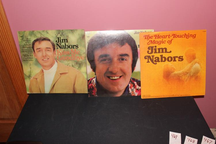LOT OF 3 JIM NABORS ALL LIKE NEW L.P.