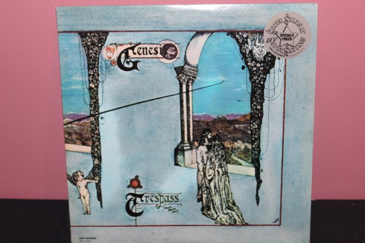 GENESIS – TRSPASS MCA 37151 LIKE NEW 1984