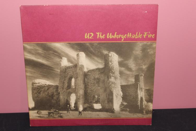 U2 – UNFORGETTABLE FIRE 1984 ISLAND RECORDS LIKE NEW