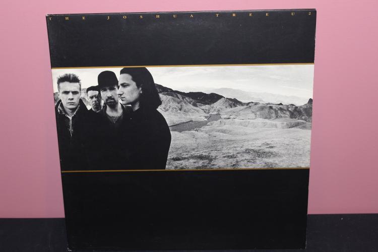 U2 THE JOSHUA TREE 1987 ISLAND RECORDS 90581-1 LIKE NEW GATEFOLD ALBUM