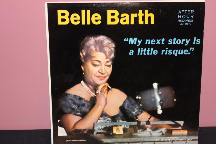 COMEDY BELLE BARTH LAUGH A MINUTE GOOD PLAYABLE COND.