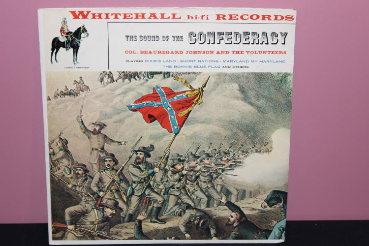 SOUNDS OF THE CONFEDERACY LIKE NEW WHITEHALL RECORDS WH 20022