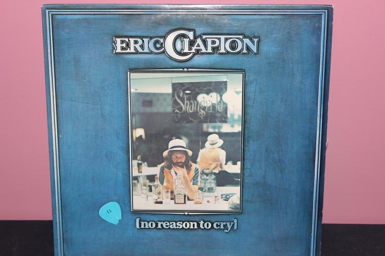 ERIC CLAPTON NO REASON TO CRY 1976 RSO RECORDS RS. 1- 3004 LIKE NEW