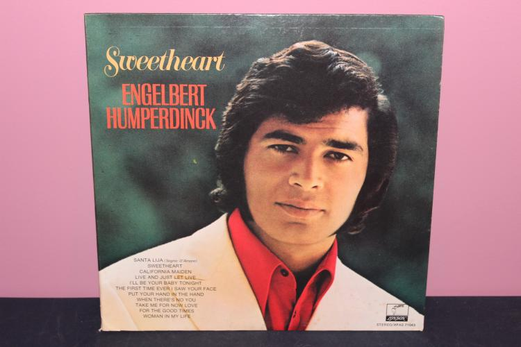 ENGLEBERT HUMPERDINCK SWEETHEART PARROT LONDON RECORDS NEAR MINT