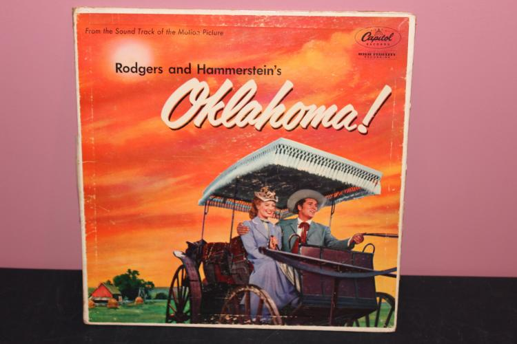 SOUNDTRACK FROM THE MOVIE OKLAHOMA CAPITAL RECORDS VERY GOOD CONDITION