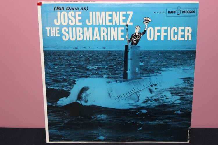 JOSE JIMENEZ - THE SUBMARINE OFFICER - KAPP RECORDS KL1215 - 1960 LIKE NEW