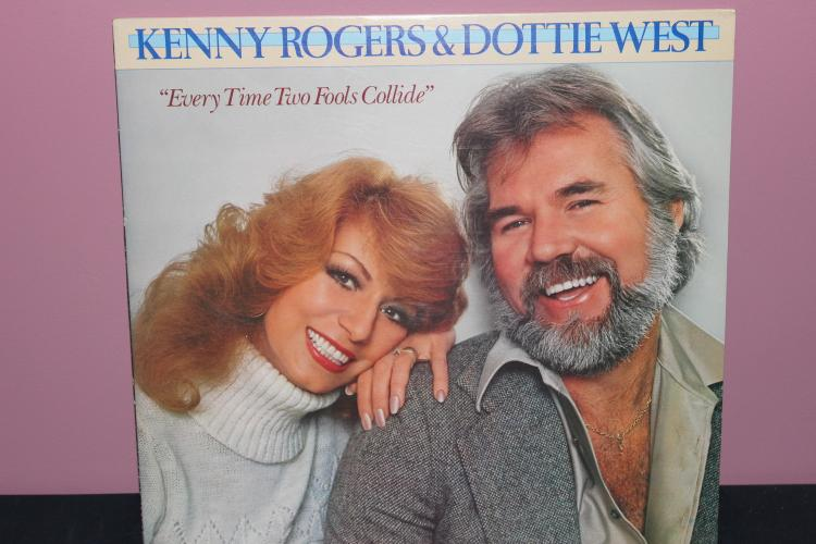 KENNY ROGERS & DOTTIE WEST 1978 - UNITED ARTIST - VERY GOOD COND.