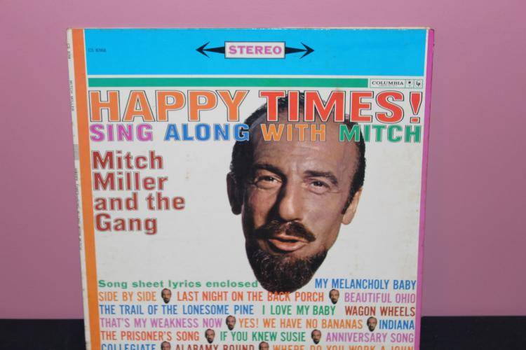 SING ALONG WITH MITCH - COLUMBIA CT 1568 W/ LYRICS - VERY GOOD COND