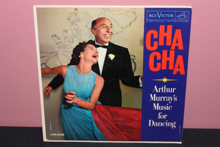 CHACHA RCA LPM2155 - ARTHUR MURRAY'S MUSIC FOR DANCING - VERY GOOD COND. 1959