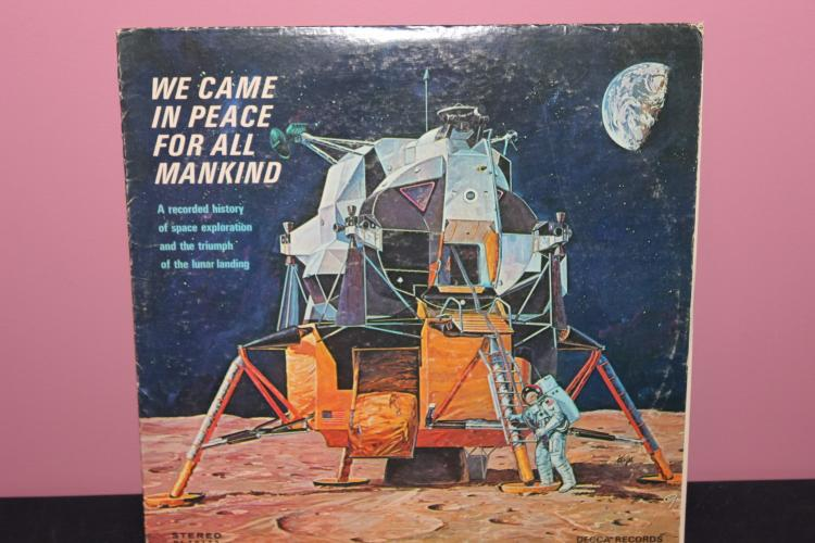 WE CAME IN PEACE FOR ALL MANKING - 1969 DECCA DL79172 - VERY PLAYABLE, FEW BLEMISHES