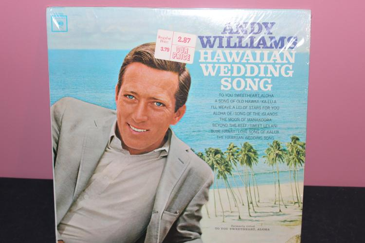 ANDY WILLIAMS HAWAIIAN WEDDING SONGS - LIKE NEW